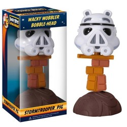 Cabezon Angry Birds Stormtrooper Pig