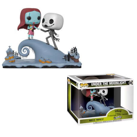 Figuras POP Disney Pesadilla Antes de Navidad Jack and Sally on the Hill