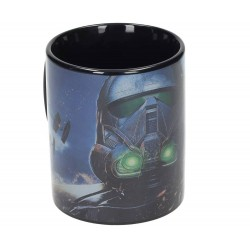 Taza Death Trooper Negra Star Wars