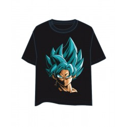 Camiseta Chico Goku God Dragon Ball