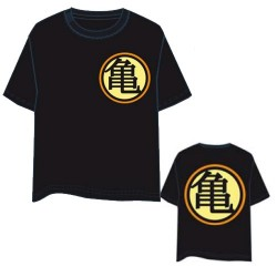 Camiseta Chico Kamehouse Negra Dragon Ball