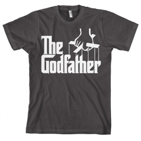 Camiseta Negra Logo The Godfather