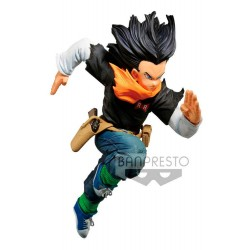 Figura Androide 17 World Colosseum Dragon Ball Z 17 cm Banpresto