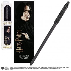 Varita y Marcapáginas 3D Severus Snape Harry Potter 30 cm Noble Collection