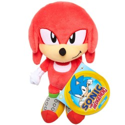 Peluche Knuckles Sonic The Hedgeogh 17 cm Jakks
