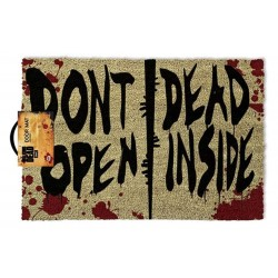Felpudo Don't Open Dead Inside The Walking Dead 40 x 60 cm