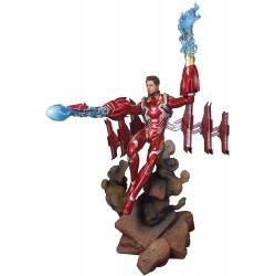 Figura Iron Man MK50 Desenmascarado Infinity War 23 cm Marvel Diamond