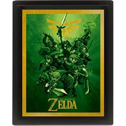 Poster 3D Link The Legend of Zelda