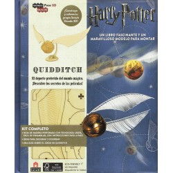 Incredibuilds. Harry Potter Quidditch (Tapa Dura)