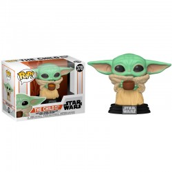 Figura POP Baby Yoda con Copa The Mandalorian Star Wars