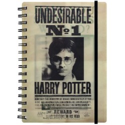 Libreta Espiral A5 Harry & Sirius 3D Harry Potter
