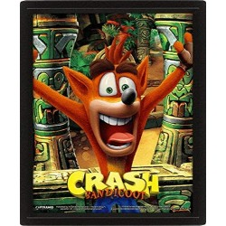 Poster 3D Crash Bandicoot