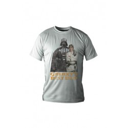 Camiseta Galaxy's Best Dad Star Wars