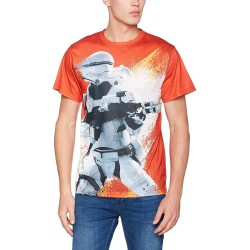 Camiseta Full Naranja Flametrooper Star Wars