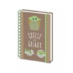 Libreta Espiral A5 Cutest in the Galaxy The Mandalorian Star Wars