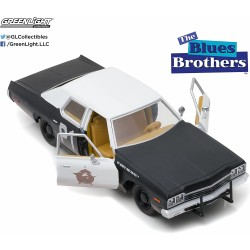 Dodge Monaco Bluesmobile 1974 The Blues Brothes Escala 1/24