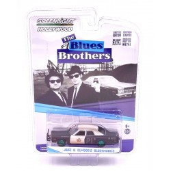 "Dodge Monaco ""Blues Brothers"" Ruedas Verdes (1974) Escala 1/64"