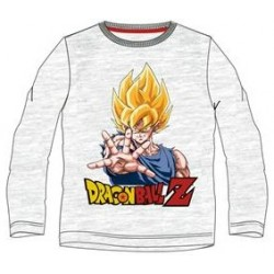 Camiseta Niño Manga Larga Goku Super Saiyan Dragon Ball Z