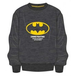 Sudadera Gris Oscura Batman Crime Fighting DC