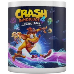 Taza It's About Time Crash Bandicoot 4 320 ml
