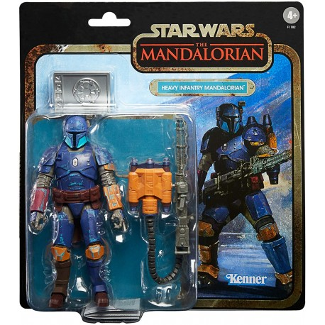 Figura articulada Heavy Infantry Mandalorian de 19 cm Star Wars Black Series Credit Collection