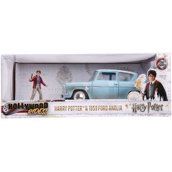 Coche Metal Ford Anglia Harry Potter Escala 1:24