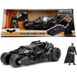 Coche Metal Batmovil Dark Knight 2008 Escala 1:24
