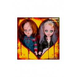 Pack Chucky y Tiffany Living Dead Dolls 25 cm