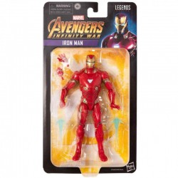Figura Articulada Iron Man Endgame Marvel Legends Hasbro