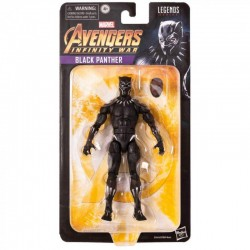 Figura Articulada Black Panther Infinity War Marvel Legends Hasbro