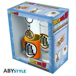 Pack Vaso 29 cl + Llavero + Mini Taza Dragon Ball Z
