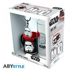 Pack Trooper Vaso 29 cl + Llavero + Mini Taza Star Wars