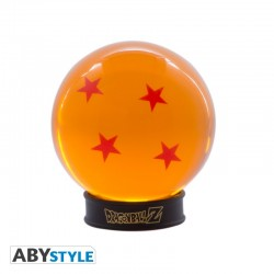Bola Dragon Ball 4 Estrellas 75 mm + Peana Dragon Ball Z
