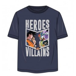 Camiseta Heroes y Villanos Dragon Ball
