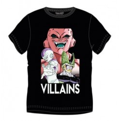 Camiseta Villanos Dragon Ball