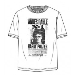 Camiseta Blanca Indeseable Nº1 Harry Potter