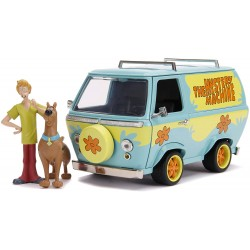 Réplica Furgoneta Metal The Mistery Machine Scooby-Doo Escala 1/24 Jada