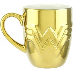 Taza Dorada Wonder Woman 1984 DC