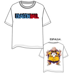 Camiseta Blanca Mutenroshi Dragon Ball