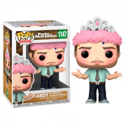 Figura POP Andy Princesa Parks and Recreation