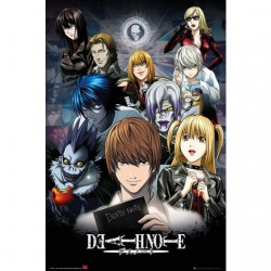 Poster Death Note Collage 61 x 91,5 cm
