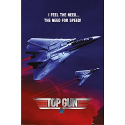 Poster Top Gun The Need for Speed 61 x 91,5