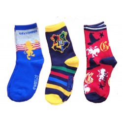 Pack 3 Calcetines Hogwarts Harry Potter (Pack 1)