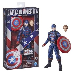 Figura Articulada Capitán América The Falcon and the Winter Soldier 15 cm Marvel Legends