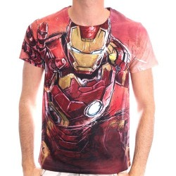Camiseta Iron Man Full Print