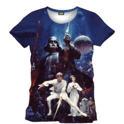 Camiseta Star Wars New Hope Full Print