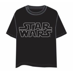 Camiseta Star Wars Logo Star Wars