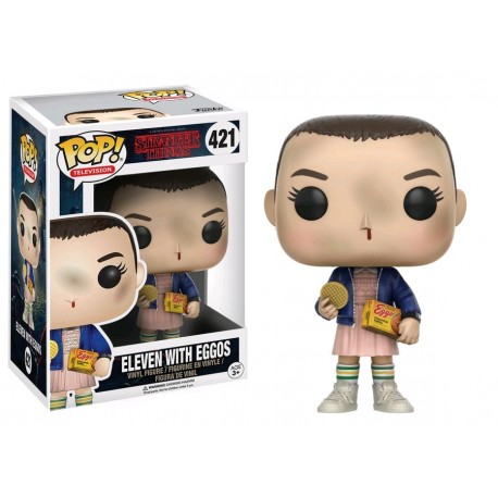 Figura Pop Eleven con Eggos Stranger Things