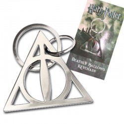 Llavero Metálico Deathly Hallows Harry Potter (Edición Limitada)