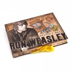 Cofre Artefacto Ron Weasley Harry Potter Noble Collection